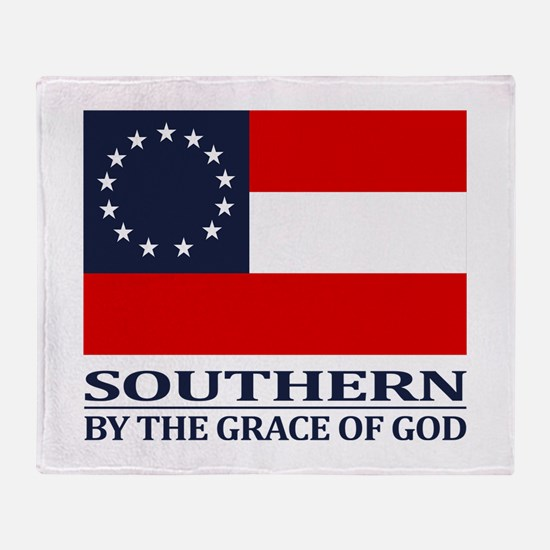 CSA 1st Nationl (Grace of God) Throw Blanket