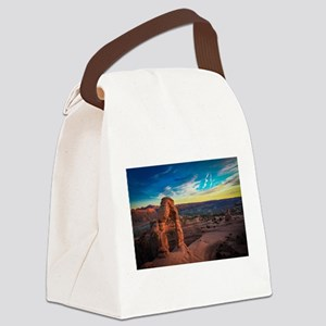 Utah Arches National Park Canvas Lunch Bag