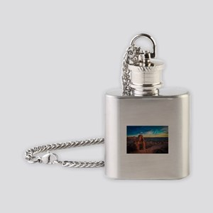 Utah Arches National Park Flask Necklace