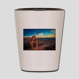 Utah Arches National Park Shot Glass