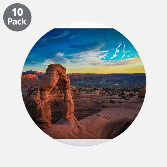 "Utah Arches National Park 3.5"" Button (10 pack)"