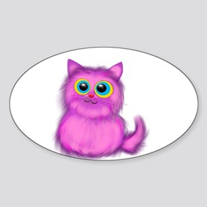 pink Kitten Sticker