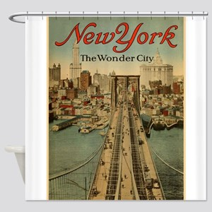 New York City; The Wonder City; Vintage Poster Sho