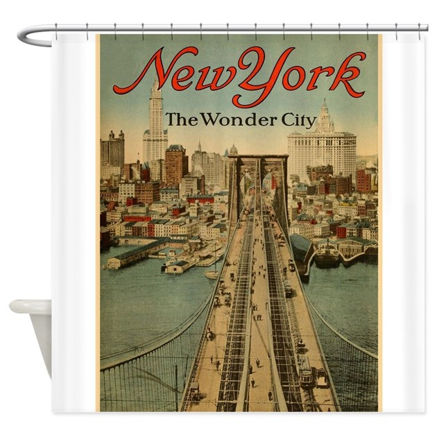 New York City The Wonder Vintage Poster Sho By Vintagevivian