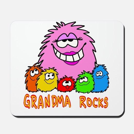 Grandma Rocks! Mousepad
