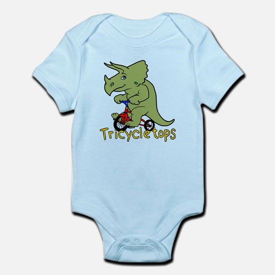 Triceratops Bicycle Body Suit