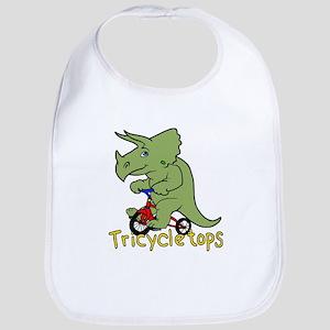 Triceratops Bicycle Bib