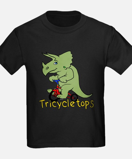 Triceratops Bicycle T-Shirt