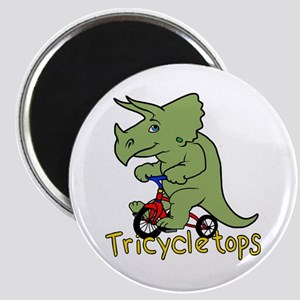 Triceratops Bicycle Magnets
