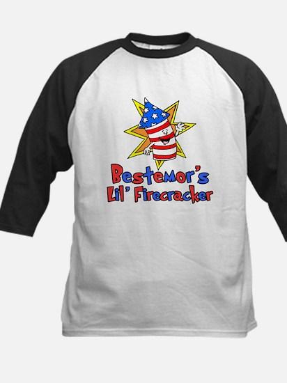 Bestemor's Little Firecracker Baseball Jersey