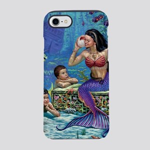 Mermaid And Her Children iPhone 8/7 Tough Case