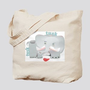 ELEPHNT6 Front Back Tote Bag