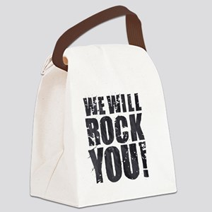 We Will Rock You Canvas Lunch Bag