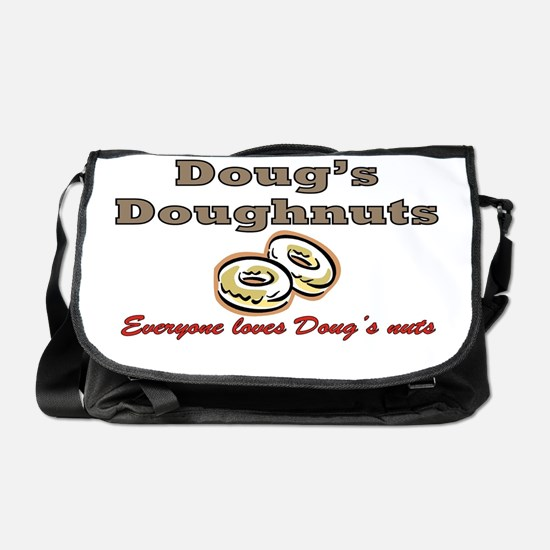 DOUG'S DOUGHNUTS Messenger Bag