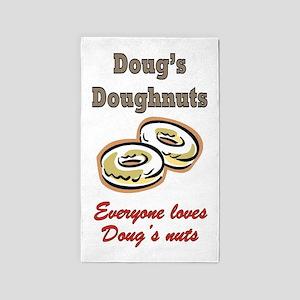 DOUG'S DOUGHNUTS Area Rug