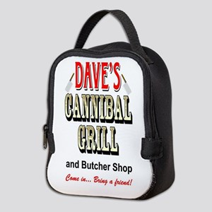 DAVE'S CANNIBAL GRILL Neoprene Lunch Bag