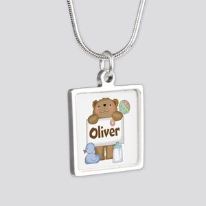 Oliver's Silver Square Necklace