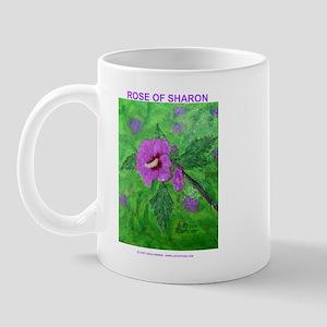 ROSE OF SHARON PAINTING Mug