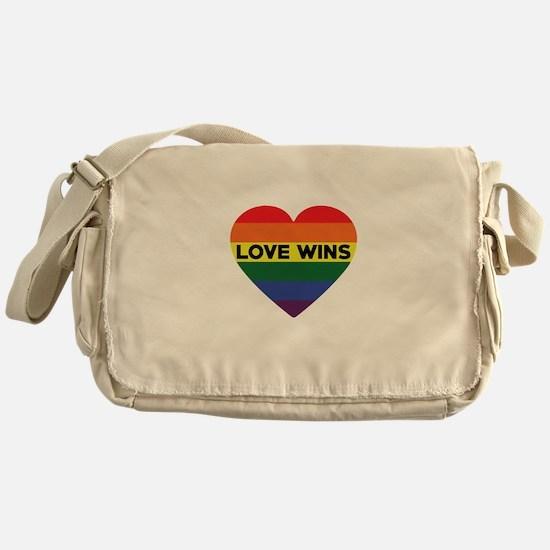 Love Wins Messenger Bag