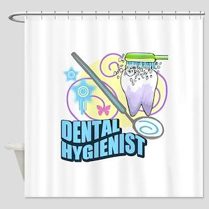 Dental Hygienists Shower Curtain