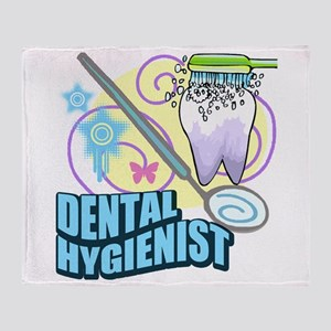 Dental Hygienists Throw Blanket