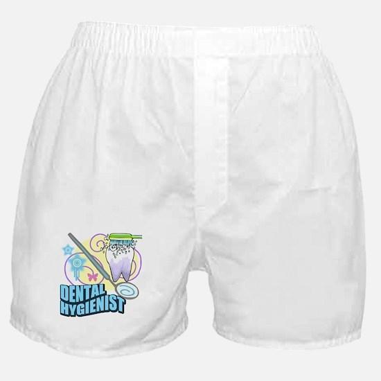 Dental Hygienists Boxer Shorts