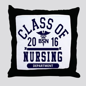 Class of 2016 BSN Throw Pillow