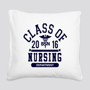 Class of 2016 BSN Square Canvas Pillow