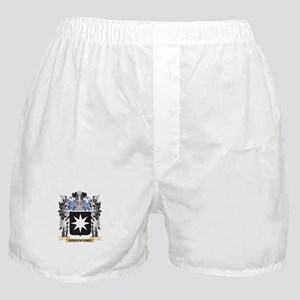 Hannaford Coat of Arms - Family Crest Boxer Shorts