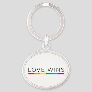 Love Wins Keychains