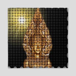 golden buddha Queen Duvet