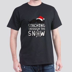 Staching Through The Snow Holiday T-Shirt