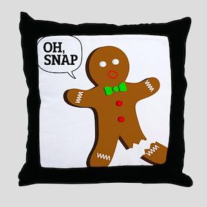 oh, Snap! Throw Pillow