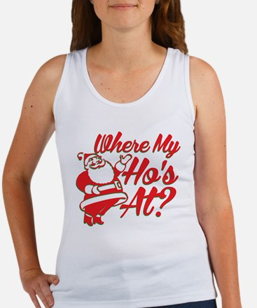 Where My Hos At? Tank Top