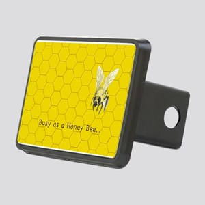 Busy As A Honey Bee ~ Rectangular Hitch Cover