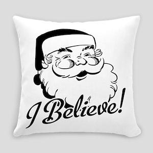 I Believe Santa St Nick Everyday Pillow