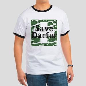 Vintage Save Darfur Ringer T