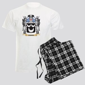 Harris Coat of Arms - Family Men's Light Pajamas