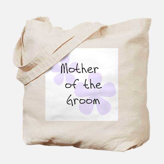 Mother of Groom Lilac Tote Bag