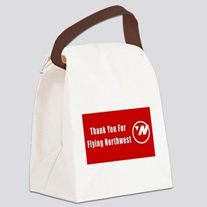 Northwest airlines Canvas Lunch Bag