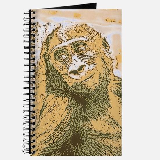 smiling gorilla Journal