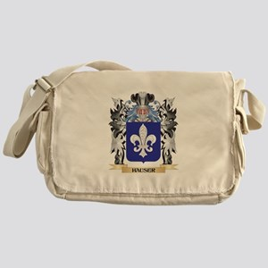 Hauser Coat of Arms - Family Crest Messenger Bag