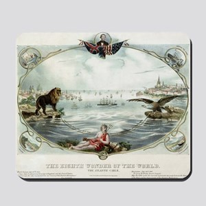 The Eighth wonder of the world Vintage P Mousepad