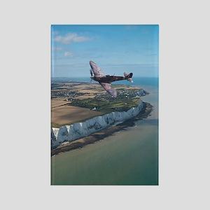 Spitfire Over England Magnets