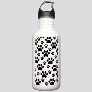 Dog Paws Stainless Water Bottle 1.0L