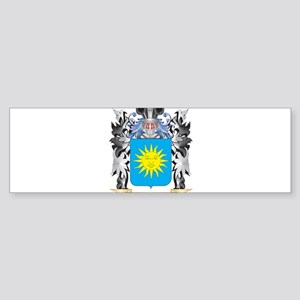 Heb Coat of Arms - Family Crest Bumper Sticker