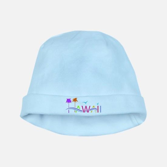 Hawaii Islands baby hat