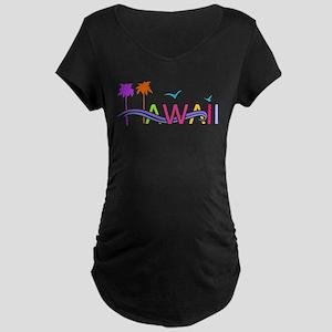 Hawaii Islands Maternity T-Shirt