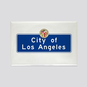 City of Los Angeles, California Rectangle Magnet