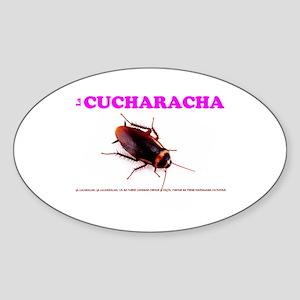 LA CUCHARACHA - COCKROACH! Sticker